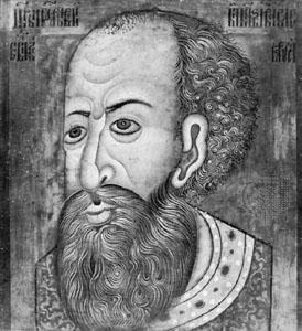 Iván IV en una representación contemporánea conservada en el Museo Nacional de Copenhage. Fuente: Enciclopedia Britannica.