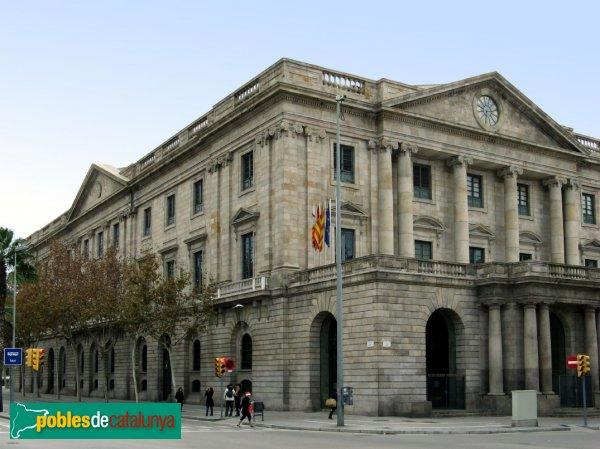 LLotja de mar de Barcelona, sede del Consulado de Mar. Extraída de: Pobles de Catalunya