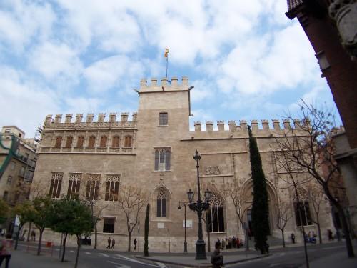 Lonja de la Seda de Valencia, sede del Consulado de Mar Extraída de Arte.laguia