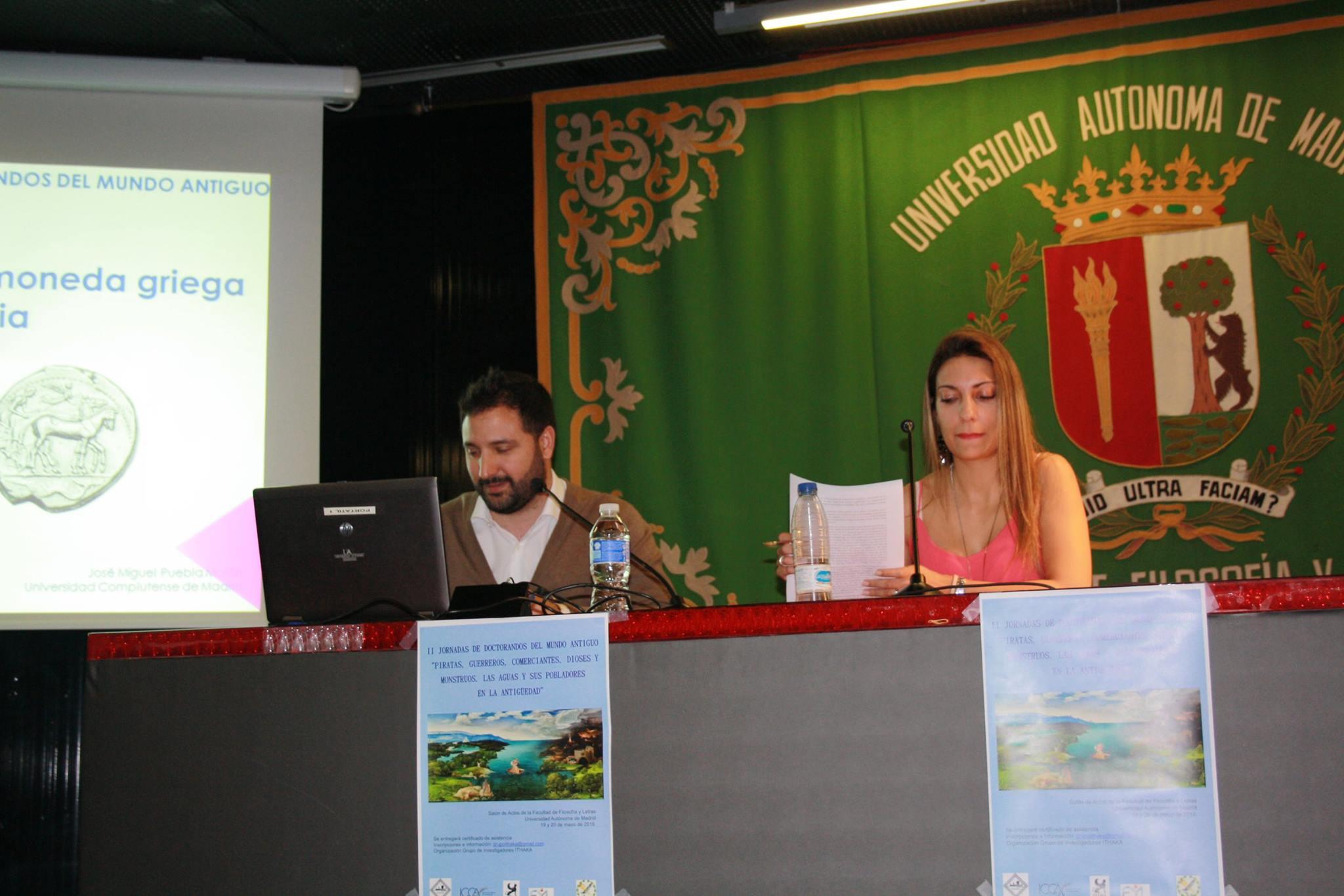 José Miguel Puebla y Cristina del Barrio