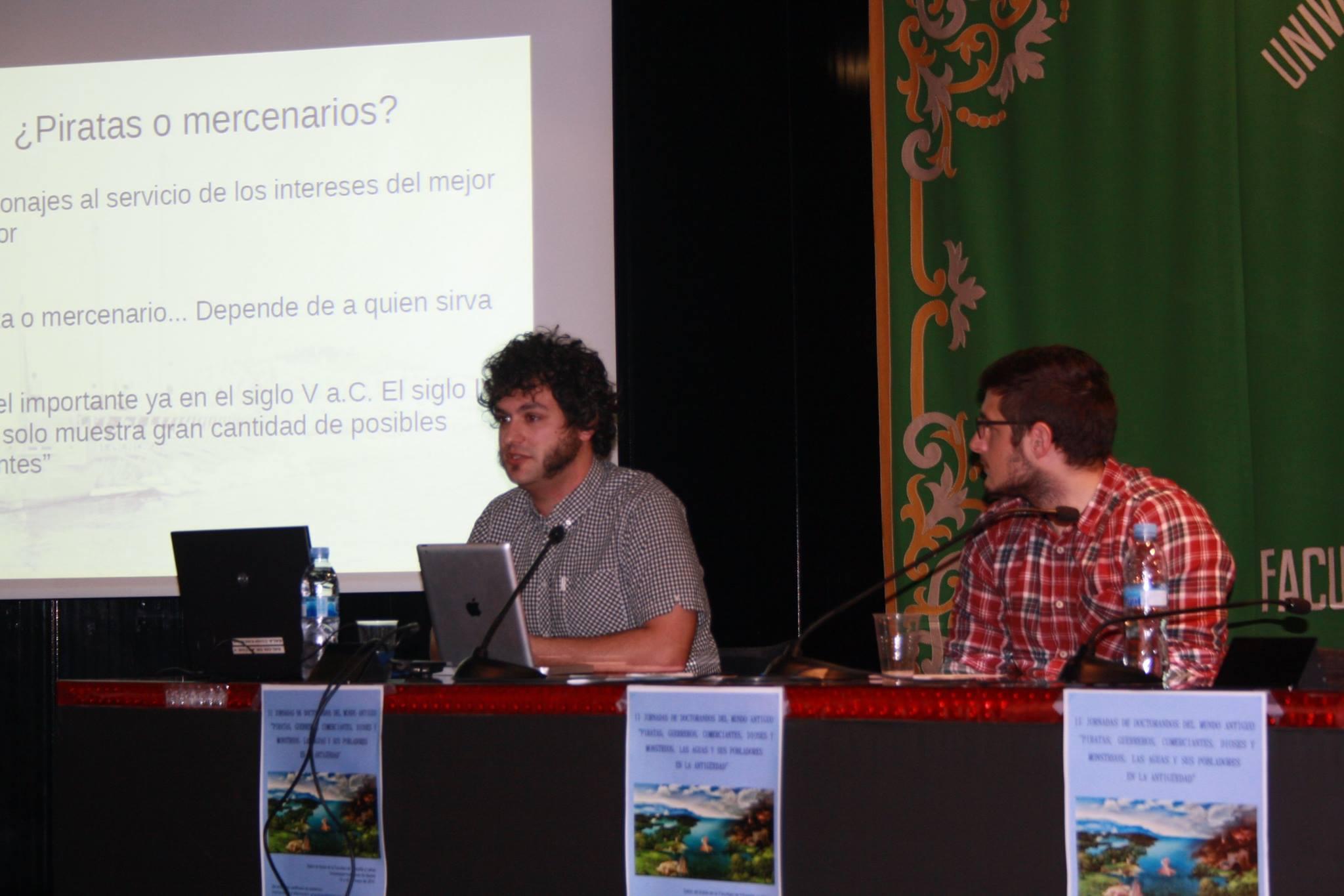 Daniel Elvis Garrido y David Pareja (Fotografía de Marta Marchena)