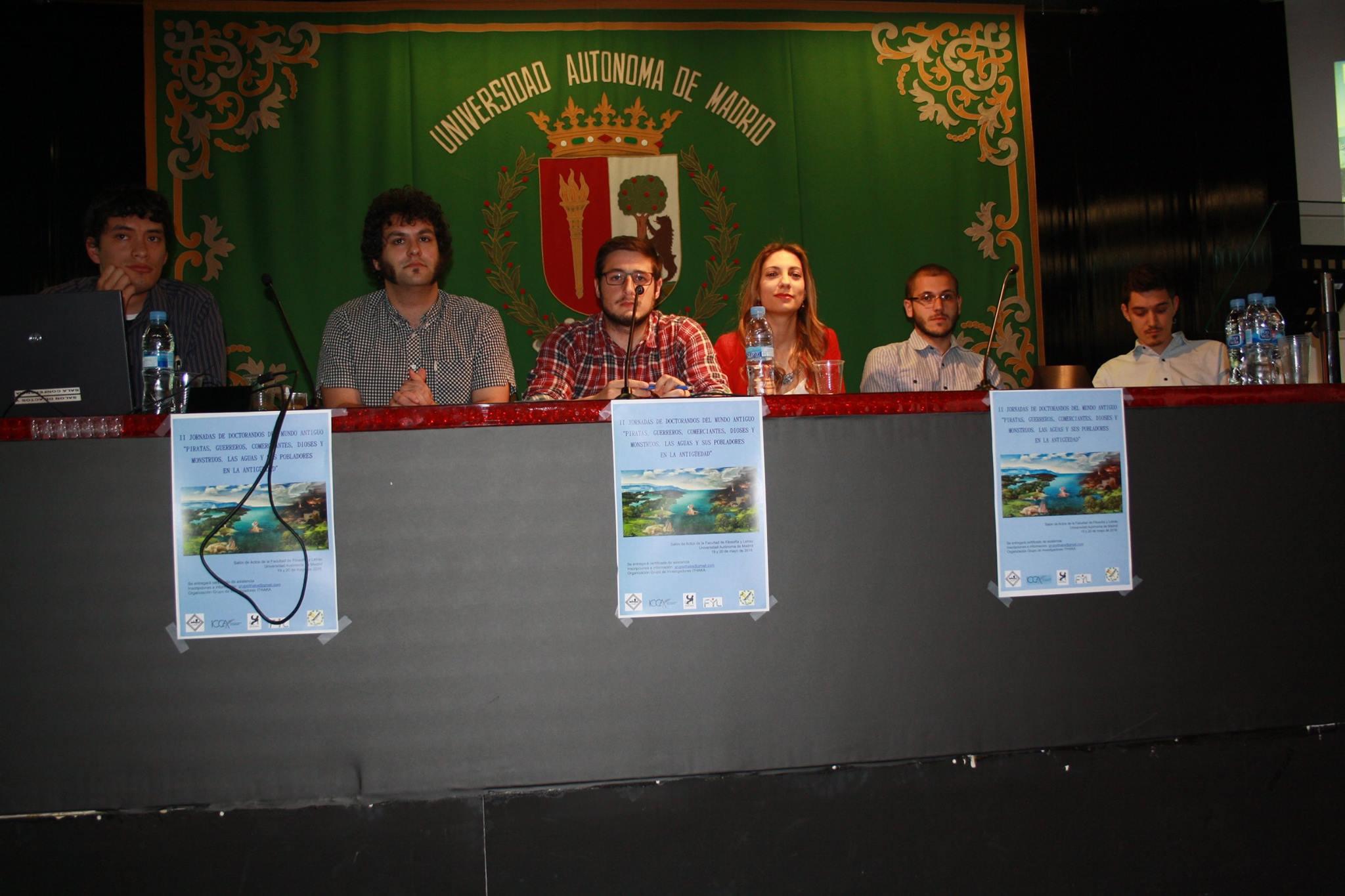 Jesús Zamora, Daniel Elvis Garrido, David Pareja, Cristina del Barrio, Carlos Moral y Alberto Hoces compusieron la mesa de debate de la primera sesión del segundo día (Fotografía de Marta Marchena)
