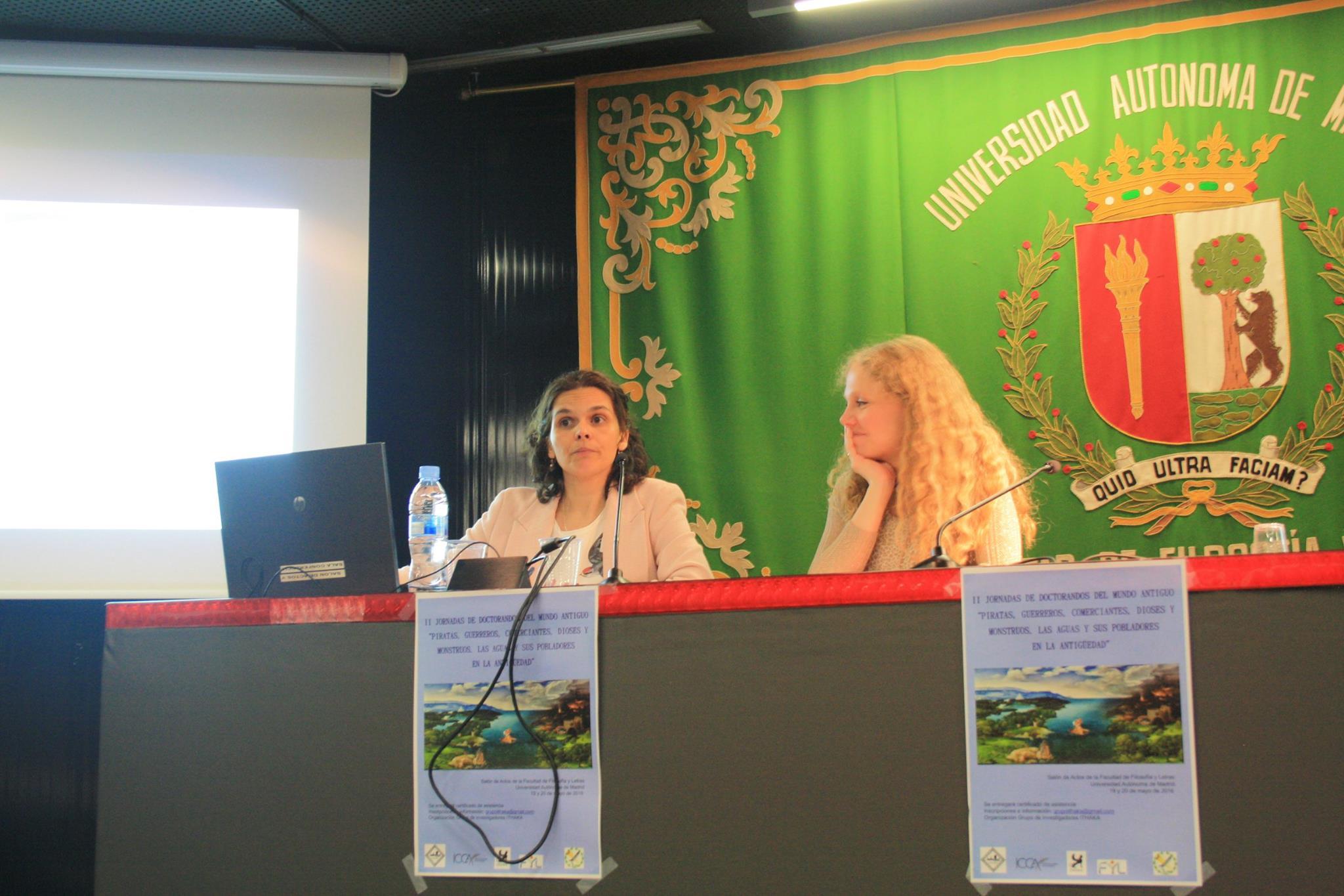 María del Mar Gabaldón y Cristina Muñoz-Delgado (Fotografía de Marta Marchena)